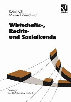 Wirtschafts-, Rechts- und Sozialkunde (eBook, PDF) - Ott, Rudolf; Wendlandt, Manfred