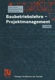 Baubetriebslehre - Projektmanagement (eBook, PDF)