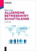 Allgemeine Betriebswirtschaftslehre (eBook, ePUB)