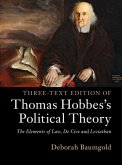 Three-Text Edition of Thomas Hobbes's Political Theory (eBook, PDF)