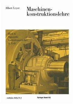 Maschinenkonstruktionslehre (eBook, PDF) - Leyer, A.