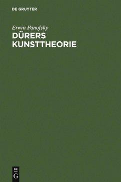 Dürers Kunsttheorie (eBook, PDF) - Panofsky, Erwin