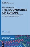 The Boundaries of Europe (eBook, PDF)