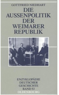 Die Außenpolitik der Weimarer Republik (eBook, PDF) - Niedhart, Gottfried