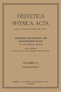Optische Messungen am Quecksilber-Atom (eBook, PDF) - Schein