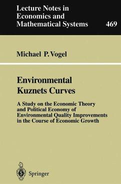 Environmental Kuznets Curves (eBook, PDF) - Vogel, Michael P.