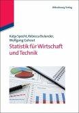 Statistik für Wirtschaft und Technik (eBook, PDF)