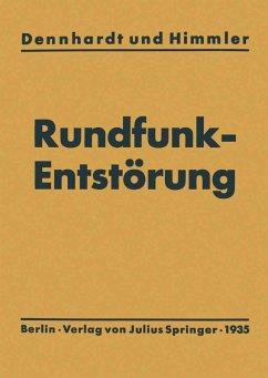 Leitfaden der Rundfunkentstörung (eBook, PDF) - Dennhardt, E. H.