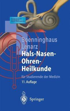 Hals-Nasen-Ohren-Heilkunde (eBook, PDF) - Boenninghaus, Hans-Georg; Lenarz, Thomas