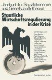 Staatliche Wirtschaftsregulierung in der Krise (eBook, PDF)