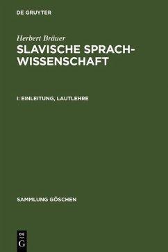 Einleitung, Lautlehre (eBook, PDF) - Bräuer, Herbert