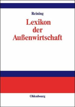 Lexikon der Außenwirtschaft (eBook, PDF) - Reining, Adam