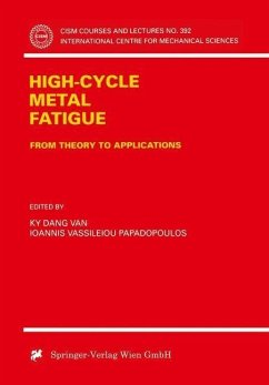 High-Cycle Metal Fatigue (eBook, PDF)