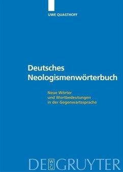 Deutsches Neologismenwörterbuch (eBook, PDF)