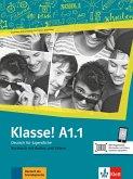 Klasse! A1.1. Kursbuch mit Audios und Videos online
