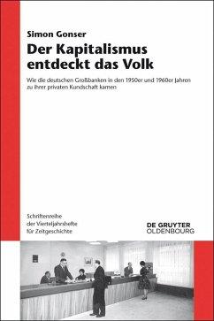 Der Kapitalismus entdeckt das Volk (eBook, PDF) - Gonser, Simon