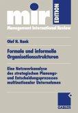 Formale und informelle Organisationsstrukturen (eBook, PDF)