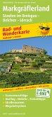 PublicPress Rad- und Wanderkarte Markgräflerland, Staufen im Breisgau - Belchen - Lörrach