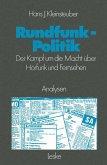 Rundfunkpolitik in der Bundesrepublik (eBook, PDF)