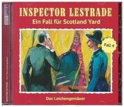 Inspector Lestrade - Das Leichengemäuer, 1 Audio-CD