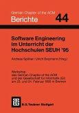 Software Engineering im Unterricht der Hochschulen SEUH '95 (eBook, PDF)