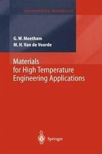 Materials for High Temperature Engineering Applications (eBook, PDF) - Meetham, G. W.; de Voorde, M. H. van