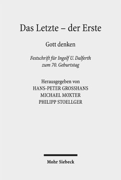 Das Letzte - der Erste (eBook, PDF)