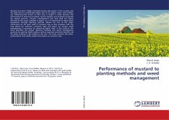 Performance of mustard to planting methods and ...