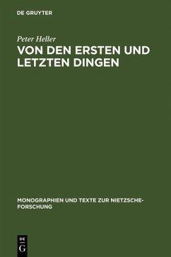 Von den ersten und letzten Dingen (eBook, PDF) - Heller, Peter