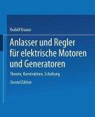 Anlasser und Regler für elektrische Motoren und Generatoren (eBook, PDF)