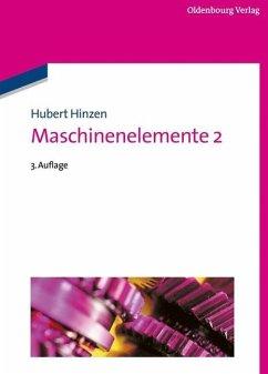 Maschinenelemente 2 (eBook, PDF) - Hinzen, Hubert