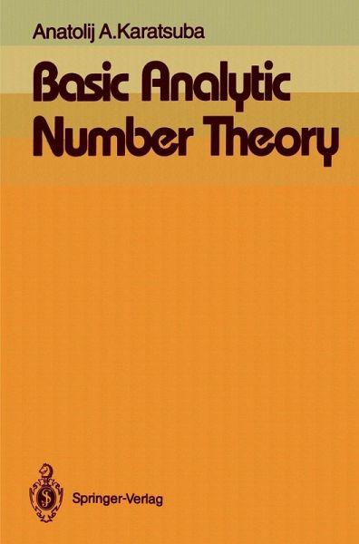 Basic Analytic Number Theory (eBook, PDF)