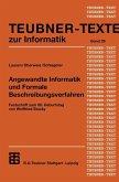 Angewandte Informatik und Formale Beschreibungsverfahren (eBook, PDF)