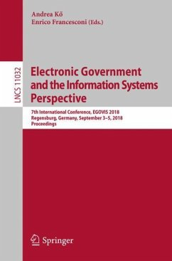 Electronic Government and the Information Syste...