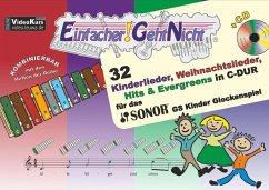 Einfacher!-Geht-Nicht - für das SONOR® GS Kinder Glockenspiel, m. 1 Audio-CD - Leuchtner, Martin; Waizmann, Bruno