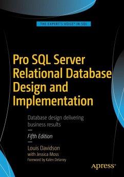 Pro SQL Server Relational Database Design and Implementation (eBook, PDF) - Davidson, Louis; Moss, Jessica