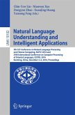 Natural Language Understanding and Intelligent Applications (eBook, PDF)