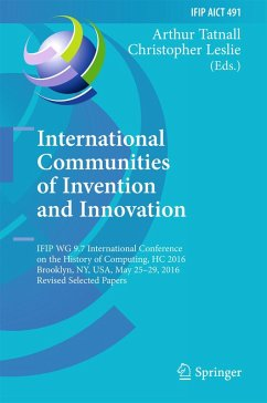International Communities of Invention and Innovation (eBook, PDF)