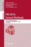 FM 2016: Formal Methods (eBook, PDF)