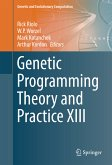 Genetic Programming Theory and Practice XIII (eBook, PDF)