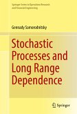 Stochastic Processes and Long Range Dependence (eBook, PDF)