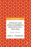 African and Afro-Caribbean Repatriation, 1919-1922 (eBook, PDF)