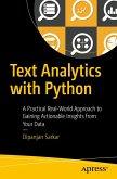 Text Analytics with Python (eBook, PDF)