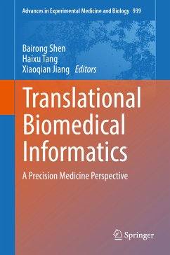 Translational Biomedical Informatics (eBook, PDF)