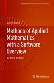 Methods of Applied Mathematics with a Software Overview (eBook, PDF)