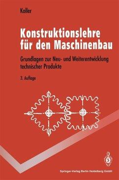 Konstruktionslehre für den Maschinenbau (eBook, PDF) - Koller, Rudolf