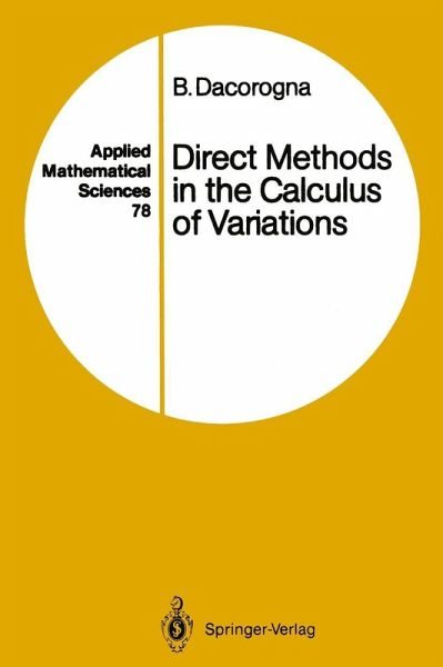 Direct Methods in the Calculus of Variations (eBook, PDF)