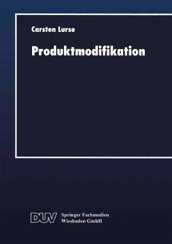 Produktmodifikation (eBook, PDF)