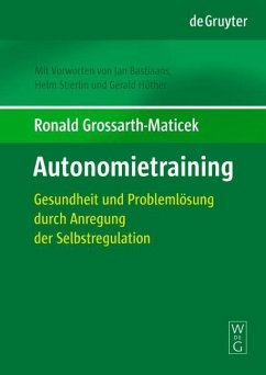 Autonomietraining (eBook, PDF) - Grossarth-Maticek, Ronald