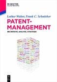 Patentmanagement (eBook, ePUB)